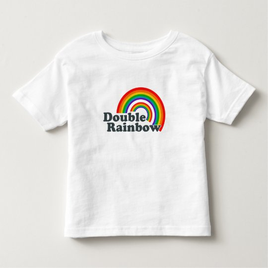 Double Rainbow Toddler T-shirt