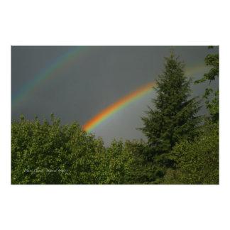 Double Rainbows! Photo Print