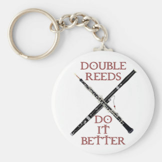 Double Reeds Keychain