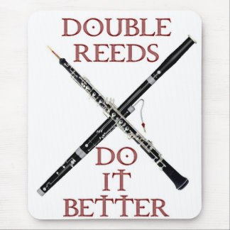 Double Reeds Mouse Pad