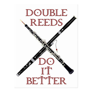 Double Reeds Postcard