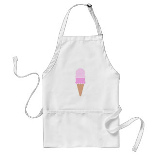 Double Scoop Ice Cream Cone - Pinks Adult Apron