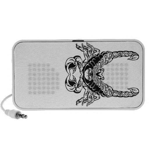 Double Scorpion Design Travelling Speaker