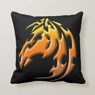 Double side tribal horse pillow