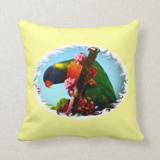 double sided australain birds pillow