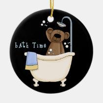 babyshower, baby, ornament, boy, inspiration, bear, bears, Ornament with custom graphic design