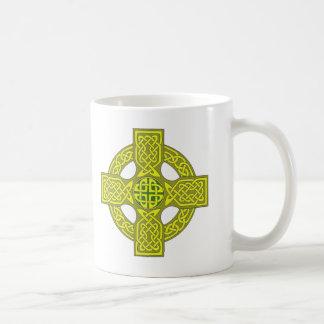 Double sided celtic cross mug, customize variety