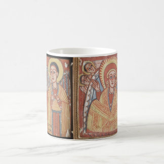 Double-sided Diptych with Mary Coffee Mug