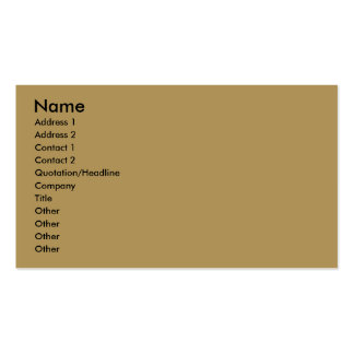 Double-sided Fishing With Dad Profile Card Business Card