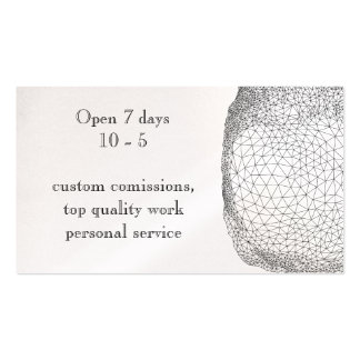 Double sided geomtric design card Double-Sided standard business cards (Pack of 100)
