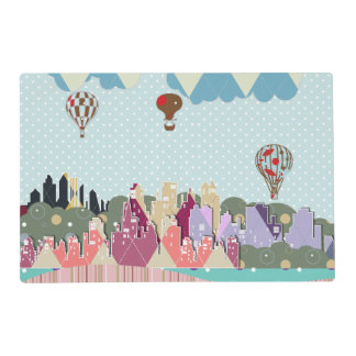 Double-sided Laminate Placemate Placemat