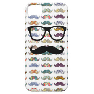 double sided mustache iPhone SE/5/5s case