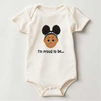 Double-Sided #NaturalHairKids Tee! #Afropuffs Baby Bodysuit