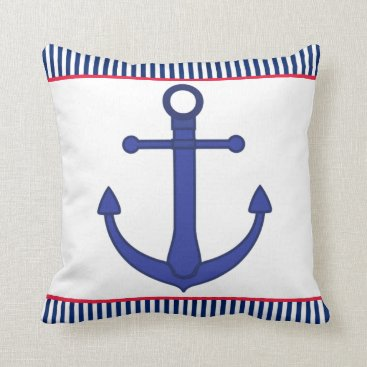 Beach Themed Double Sided Nautical Pillow