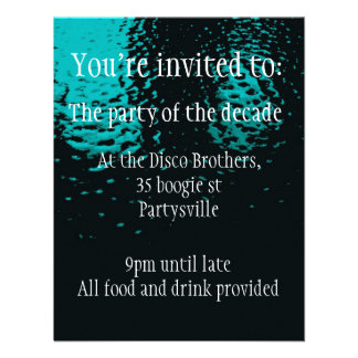 Double sided party invitation for any occasion