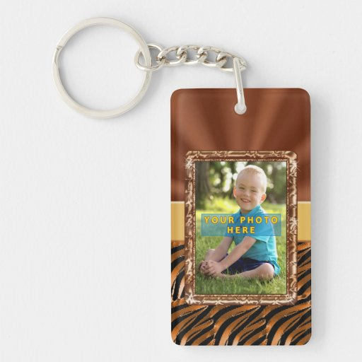 Double Sided Photo Keychain for YOUR TWO PHOTOS