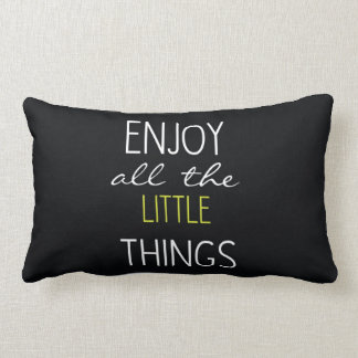 Double Sided Quote Pillow