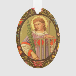 Double-Sided St. Lawrence of Rome (PM 04) Acrylic Ornament