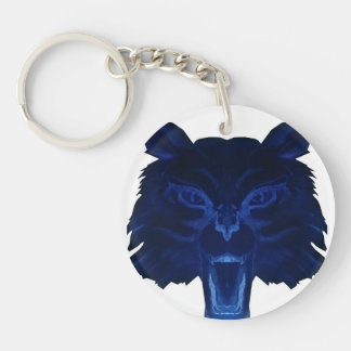 Double-Sided WildCats Pride Keychain