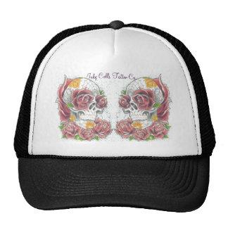 Double skull hat by Dana Tyrrell