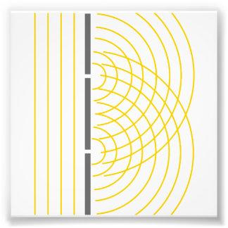 Double Slit Light Wave Particle Science Experiment Photo Print