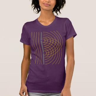 Double Slit Light Wave Particle Science Experiment Tee Shirt