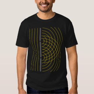 Double Slit Light Wave Particle Science Experiment Tshirt