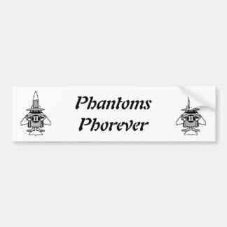 Double Spook Phantoms Phorever Bumper Sticker