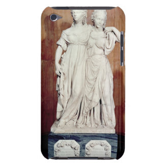 Double statue of the Princesses Louise (1776-1810) iPod Touch Case
