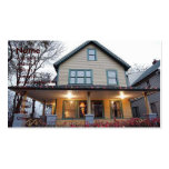 Double Storey House Business Card