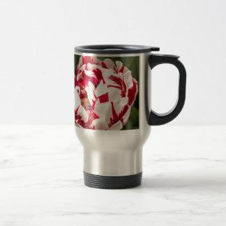 Double Striped Tulip 15 Oz Stainless Steel Travel Mug