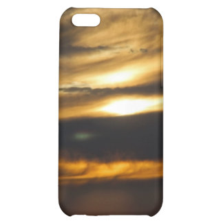 Double sun sunset iPhone 5C cover