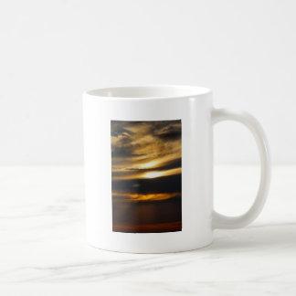 Double sun sunset mugs
