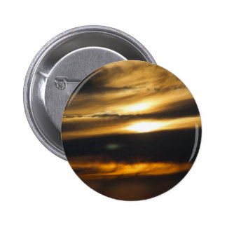 Double sun sunset pinback button
