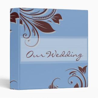 Double Swirl Wedding Album Binder
