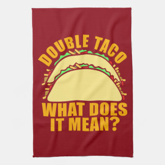 Double Taco Towel