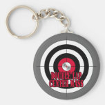 Double Tap Center Mass Keychain