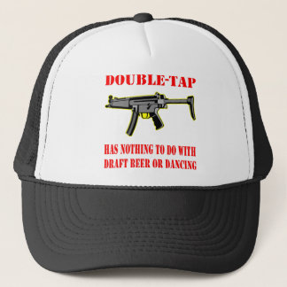Double-Tap Has Nothing To Do With Beer Dancing Trucker Hat