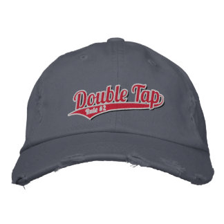 Double Tap - Rule #2 Embroidered Baseball Cap