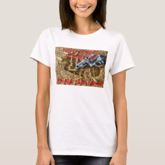 Double tap zombie war task force T-Shirt