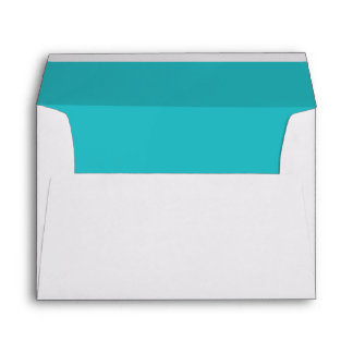 Double Teal Trim - Envelope
