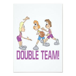 Double Team Card
