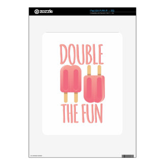 Double The Fun Decal For iPad