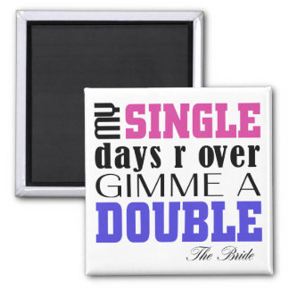 Double Time Bride Magnet