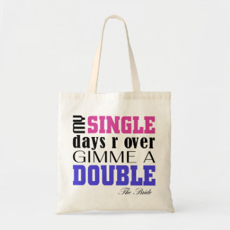 Double Time Bride Tote Bag