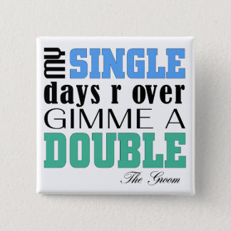 Double Time Groom Button