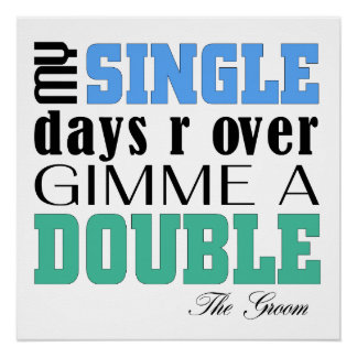 Double Time Groom Poster