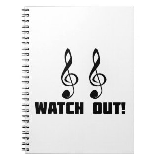 Double Treble Watch Out Notebook