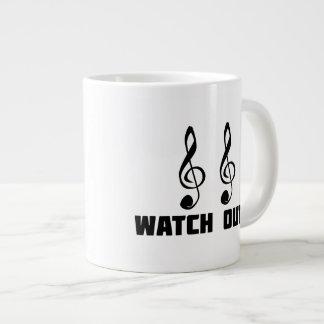Double Treble Watch Out Extra Large Mug