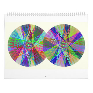 Double, Triple, Quadruple Rainbow 2017 Calendar